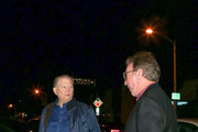 Burt Sugarman and Tim Allen Outside Craig's Restaurant in West Hollywood