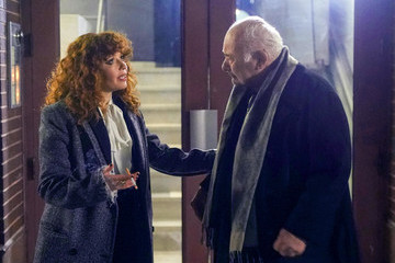 Burt Young Natasha Lyonne On The Set Of 'Russian Doll'