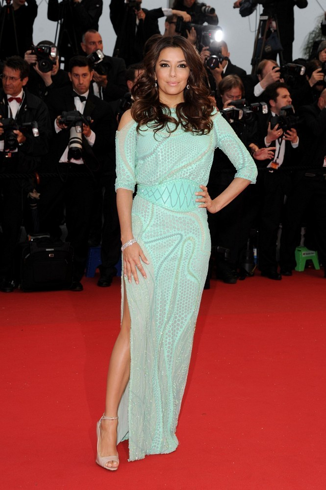 18/05/2013.'Jimmy P, Psychotherapy of a Plains Indian' Red Carpet at The Palais des Festivals during the 66th Cannes Film Festival.Here, Eva Longoria.
