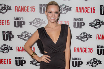 Caitlin O'Connor Celebrities Attend the 'Range 15' Movie Premiere
