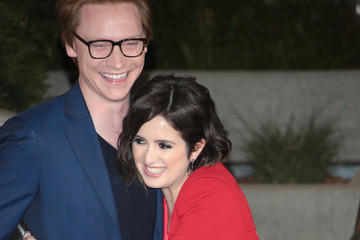 Calum Worthy Laura Marano Outside 15th Annual Global Green Pre-Oscar Gala At NeueHouse
