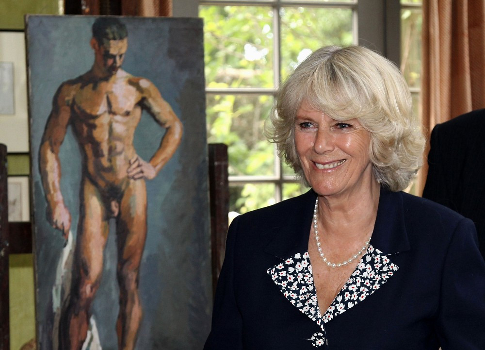Camilla parker bowles nackt something