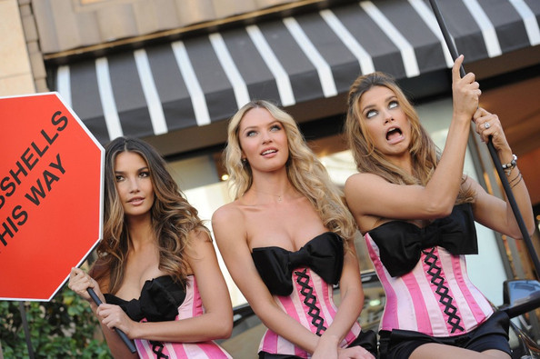 78644ff0536 Candice Swanepoel and Lily Aldridge Photos»Photostream · Pictures ·  Victoria s Secret Bombshell Launch