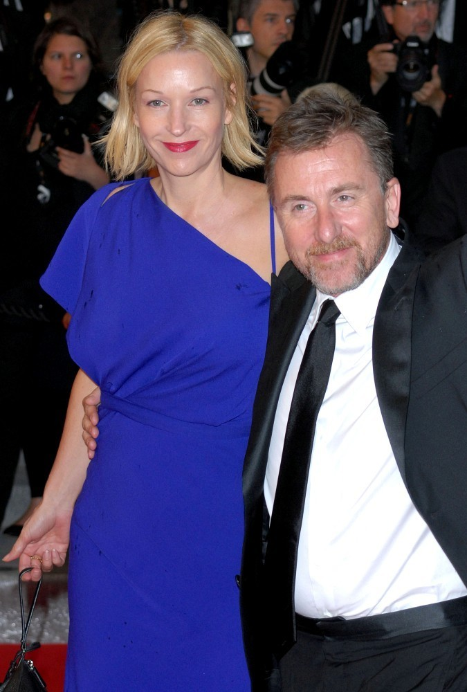 tim roth and nikki butler photos photos   cannes premiere