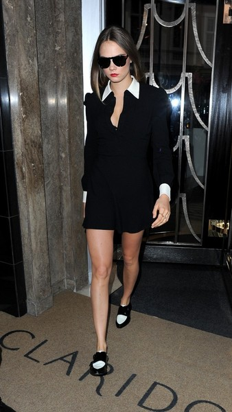 Cara Delevingne Seen Leaving Her Hotel
