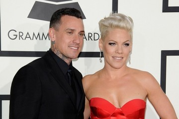 Carey Hart Arrivals at the Grammy Awards