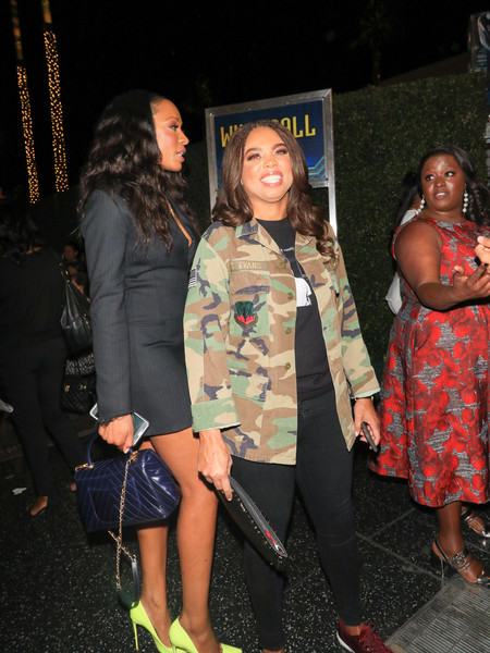Cari Champion, Jemele Hill Outside 'Black Panther' Premiere at Dolby Theatre []