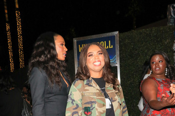 Cari Champion Jemele Hill Cari Champion, Jemele Hill Outside 'Black Panther' Premiere at Dolby Theatre