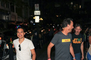 Carlos Valdes and Tom Cavanagh are seen in San Diego, California.