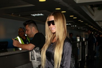 Carmen Electra Carmen Electra Spotted at LAX