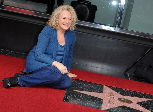Carole King honored with star on the Hollywood Walk of Fame. Hollywood, CA..December 3, 2012..Job: 121203A1..(Photo by Axelle Woussen)..