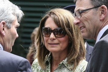 Carole Middleton Carole and Michael Middleton at 2015 Wimbledon Championships