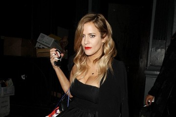 Caroline Flack Celebs Party at the Groucho Club