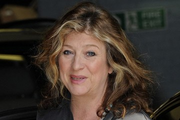 Caroline Flack Caroline Quentin at the London Studios