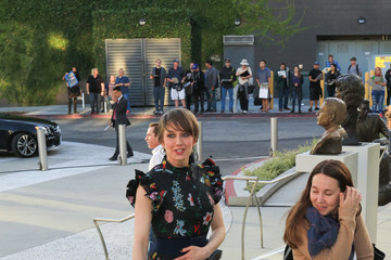Carrie Coon Carrie Coon Is Spotted Outside Saban Media Center in North Hollywood