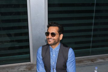 Cas Anvar Cas Anvar Attends the Premiere of 'The Layover' at the Arclight Cinema in Hollywood