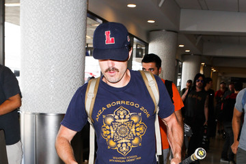 Casey Affleck Casey Affleck Is Seen at LAX