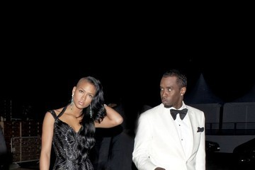 Cassie Sean Combs Cassie and Diddy Party at Cannes