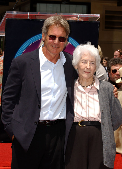 Photo of Harrison Ford & his  Mother  Dorothy Ford