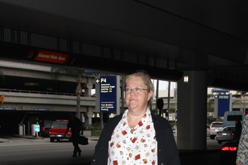 Kathy Kinney Celebrities at LAX