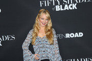 Charlotte Ross is seen attending the premiere of 'Fifty Shades of Black' at Regal Cinemas L.A. Live.