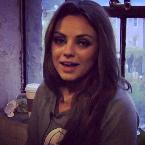 Mila Kunis in Celebrity Social Media Pics - Zimbio Ashton Kutcher Instagram