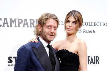 Lapo Elkann Bianca Brandolini D'adda Celebs support amfAR's Cinema Against AIDS