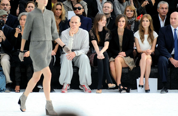 Chanel Ready-to-Wear Spring/Summer 2011 fashion show at the Grand Palais during Paris Fashion Week.