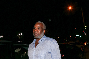 Charles Oakley Charles Oakley Outside of Craig's Restaurant in Beverly Hills
