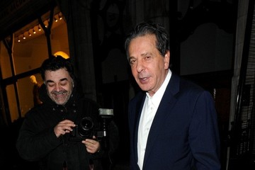 Charles Saatchi Charles Saatchi Out to Dinner at Scott's