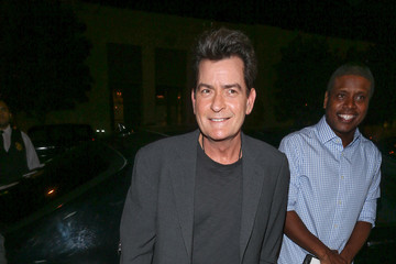 Charlie Sheen Charlie Sheen at Catch Restaurant