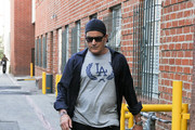 Charlie Sheen Out in Beverly Hills