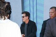 Charlie Sheen is seen in Los Angeles, California.