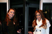 Kacey Jordan, Capri Anderson, Melanie Rios and Gina Rodriguez visit Howard Stern to compete in his 'Charlie Sheen Pornstar Pageant' for his radio show.   Kacey Jordan won the title and $10,000.  Capri Anderson, Melanie Rios and Gina Rodriguez leave separately and head to Moda for breakfast.