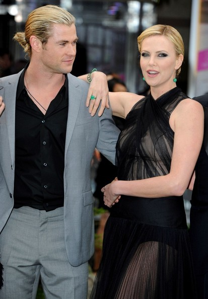 Charlize Theron and Ch...