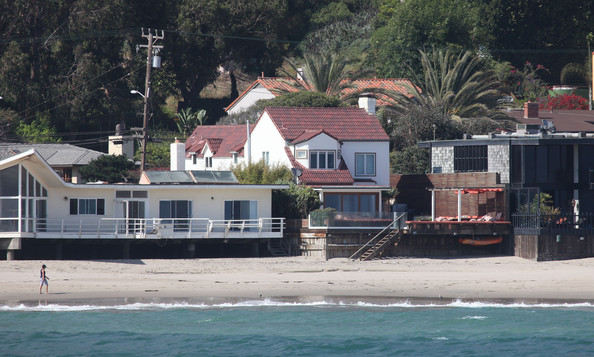 Charlize Theron's Malibu Beach house