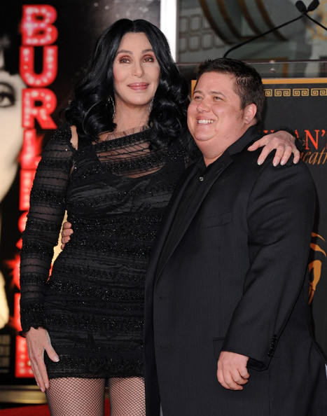 chaz bono cher. Chaz Bono Cher honored with