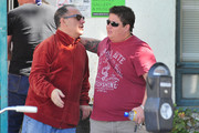 Chaz (formerly Chastity) Bono leaves a meeting at the West Hollywood Recovery Center.
