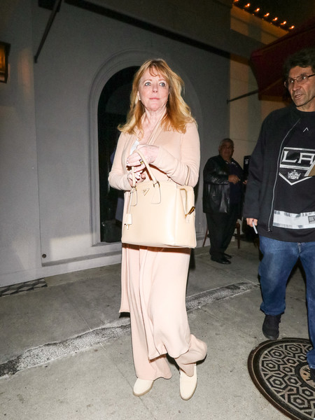 Cheryl Tiegs Outside Craig's Restaurant In West Hollywood