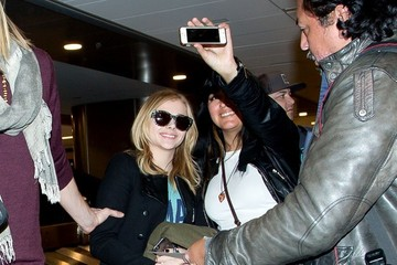 Chloe Grace Moretz Chloe Grace Moretz Arrives at LAX