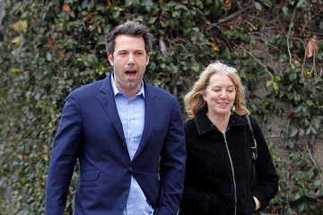 Chris Affleck Ben Affleck Takes His Mom to the Theater