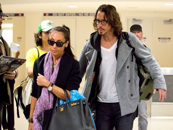 Cornell and Vicky Karayiannis Photos Photos - Chris Cornell and Wife ...