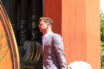 Chris Hemsworth Chris Hemsworth Outside TCL Chinese Theatre In Hollywood