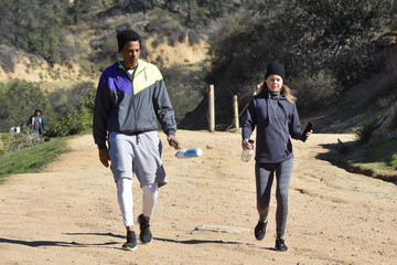 Chris Ivery Chris Ivery and Ellen Pompeo Go for a Hike