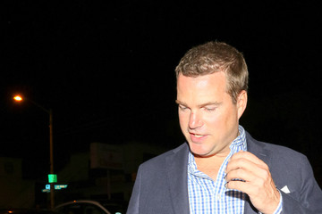 Chris O'Donnell Chris O'Donnell Outside Craig's Restaurant
