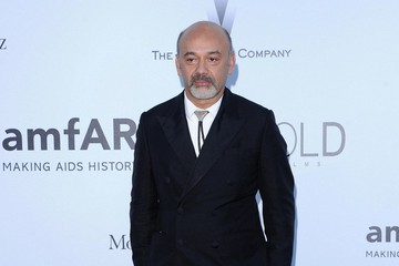Christian Louboutin Arrivals at amFAR's Cinema Against AIDS Gala