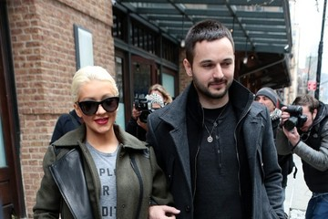 Christina Aguilera Christina Aguilera and Matt Rutler Out in NYC