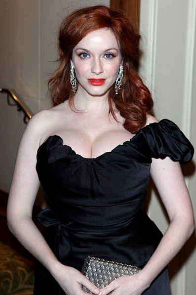 Christina Hendricks - The 2012 BAFTA Awards afterparty