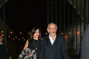 Christopher Lloyd Outside The Hearth And Hound Restaurant In Hollywood