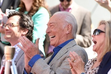 Christopher Plummer Christopher Plummer Hand and Footprint Ceremony